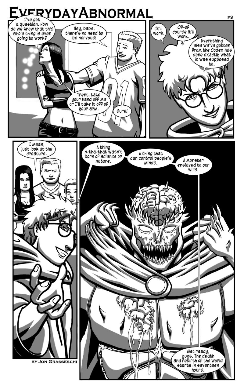 Out From Under Me, page 9