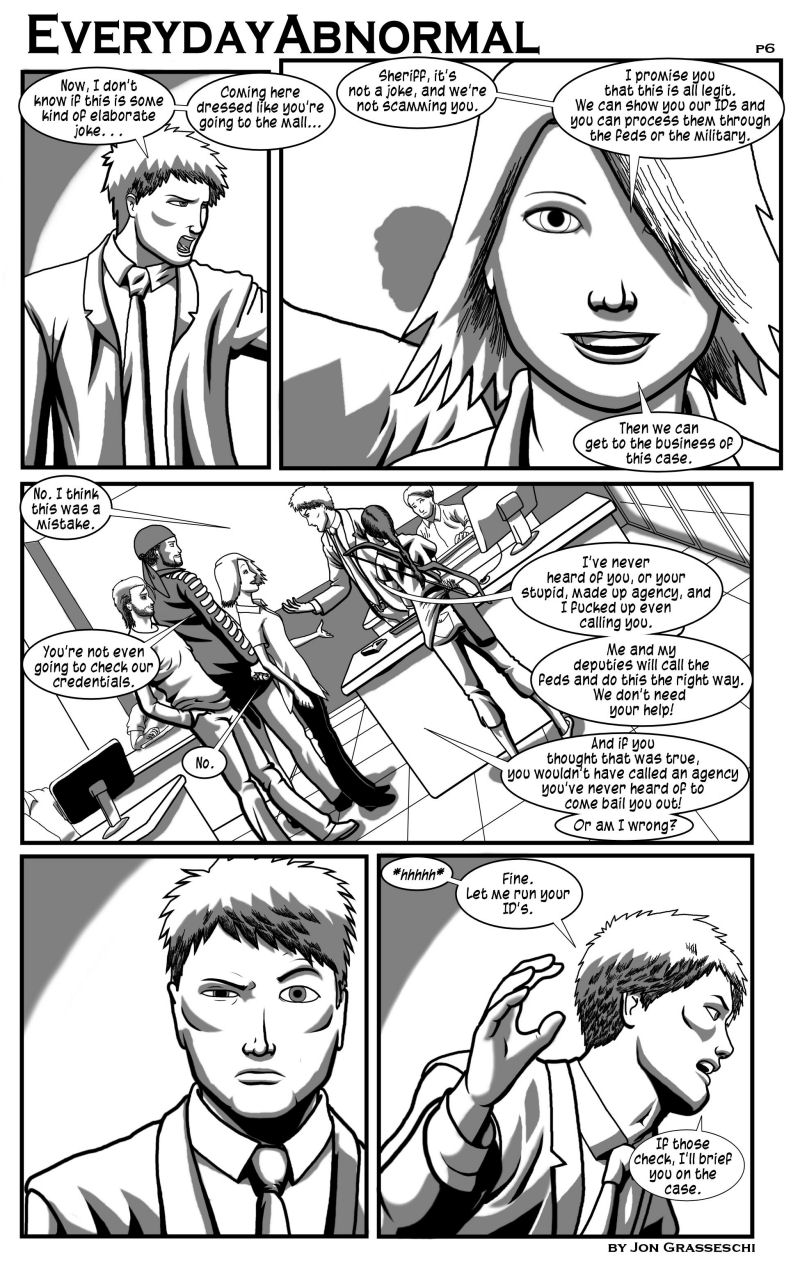 Out From Under Me, page 6