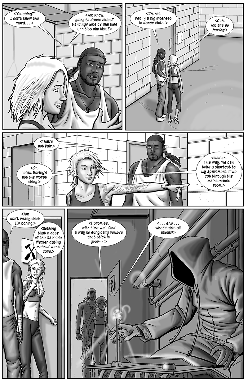 Personal Spaces, page 2