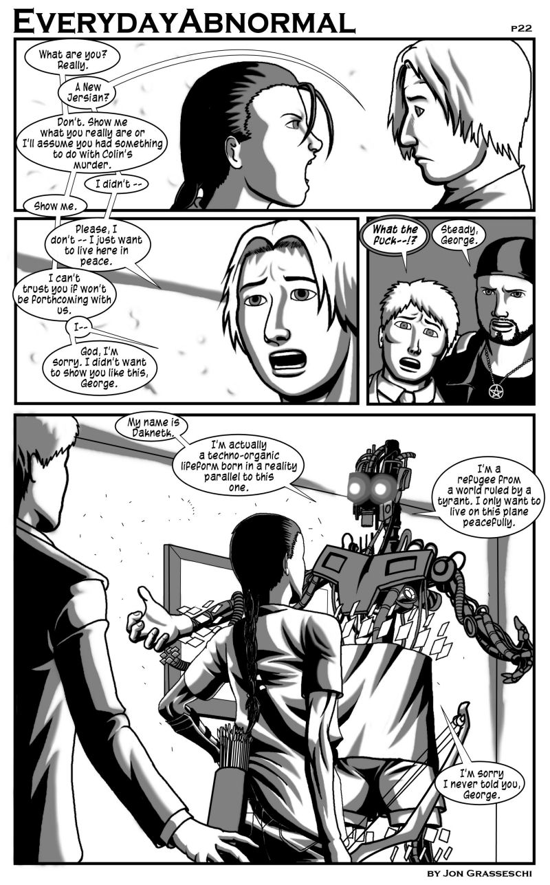 Out From Under Me, page 22