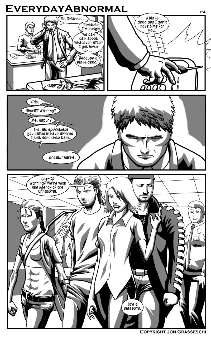 Out From Under Me, page 4